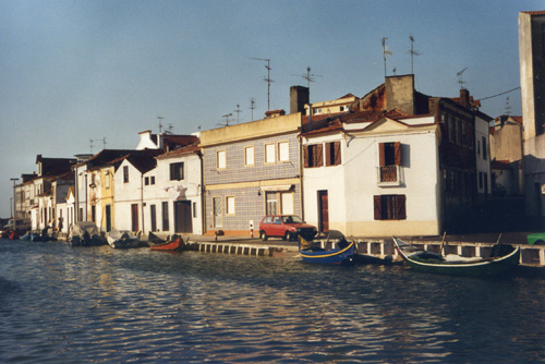 port 4 aveiro barques à quai 1995