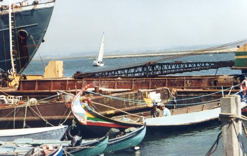 port 7 bateaux divers 1995