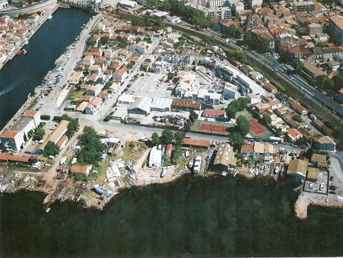 1987 2015 vieille carte aérienne chantiers plagette dateb