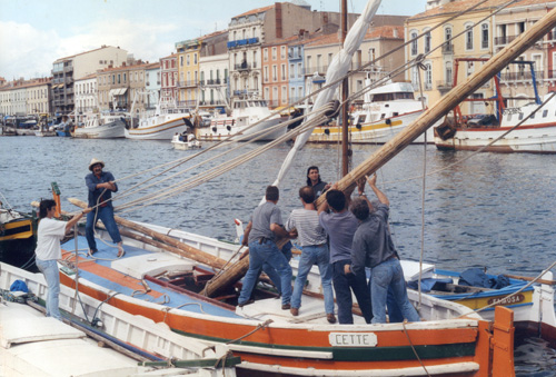 1997 montage mât cetteb
