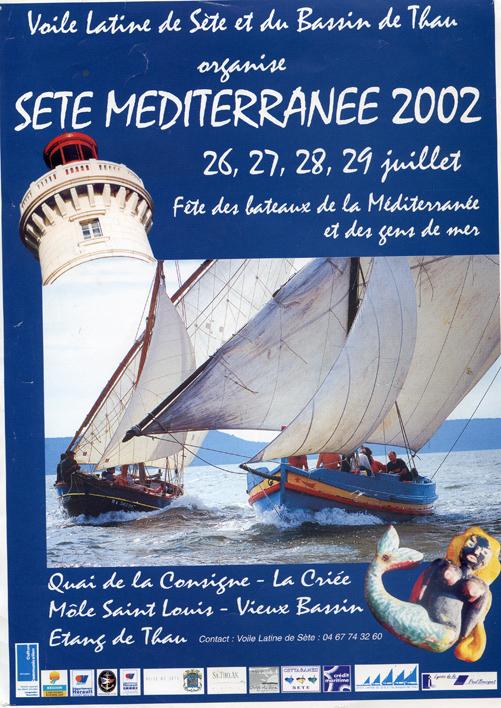 2002 affiche sete méditerranéeb